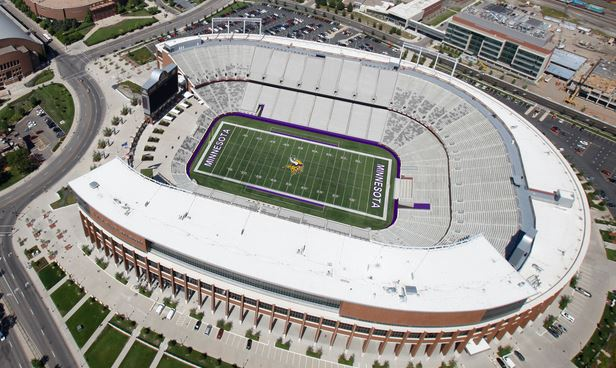 An Aerial Preview Of Tcf Bank Stadium From Newvikingsstadium C Sc W 616 H