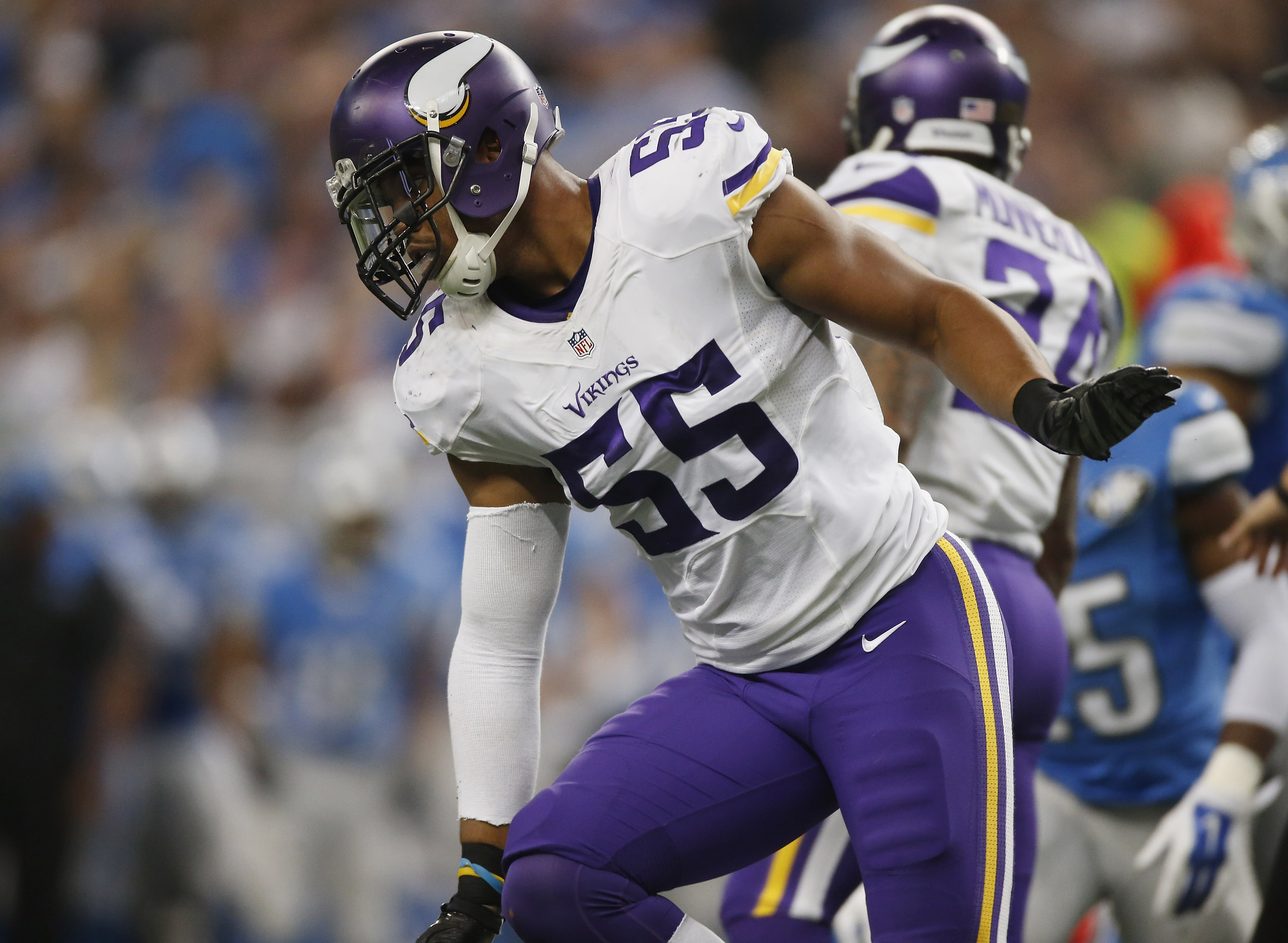 Better or worse for the Minnesota Vikings in 2017 Anthony Barr