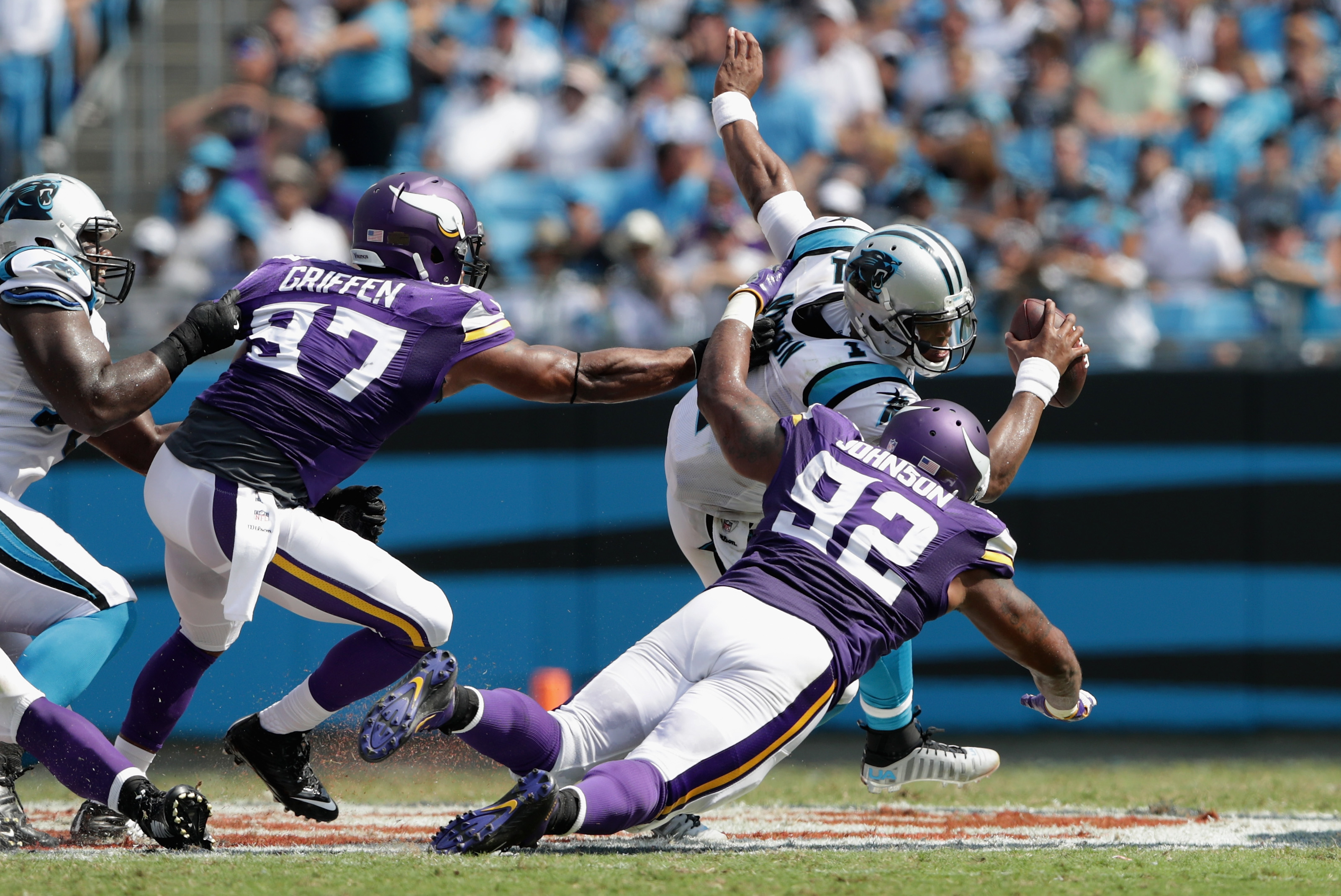Rapid Reactions: Panthers top Vikings in thriller