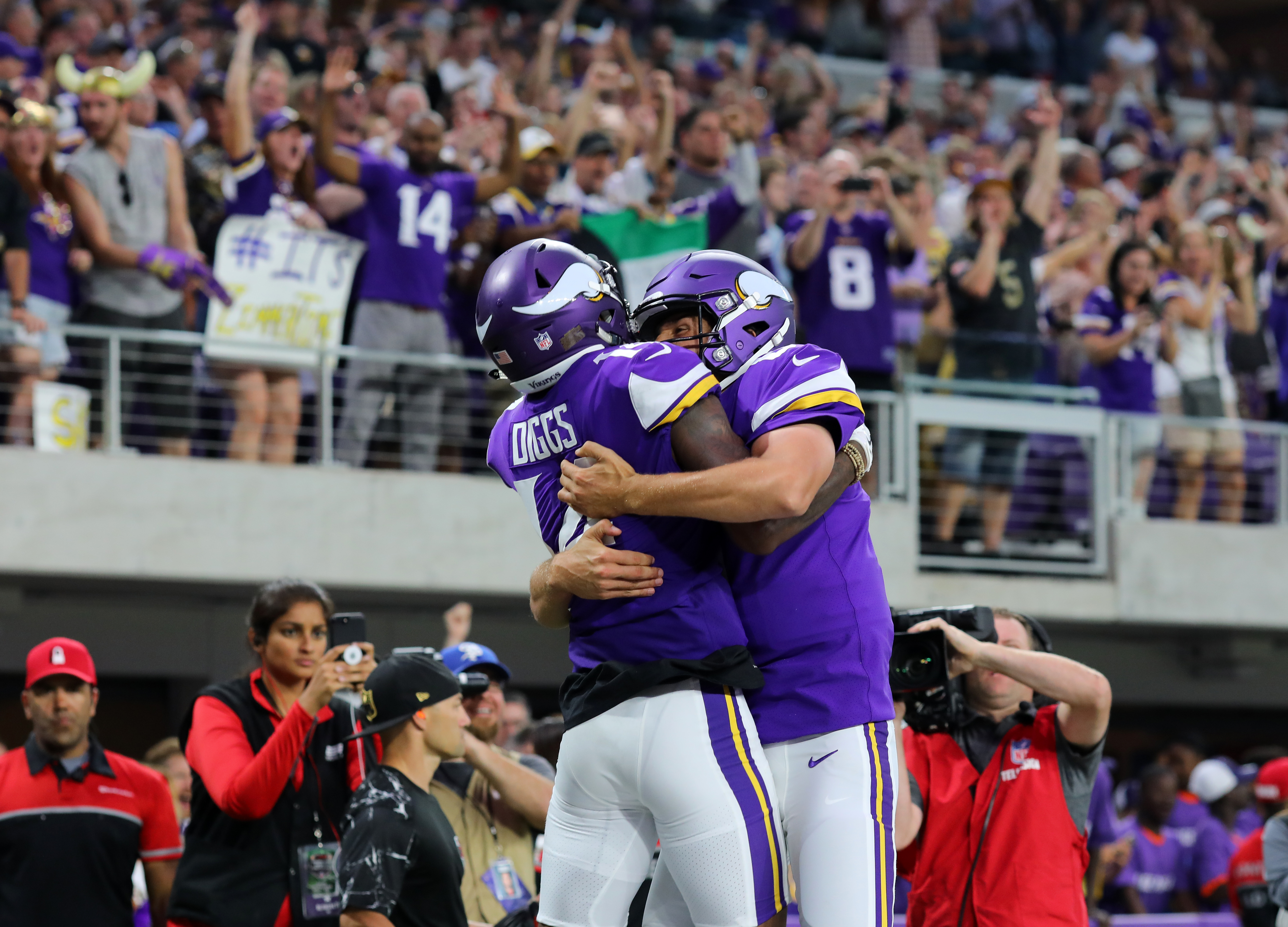 Minnesota Vikings Week 1 Ups And Downs Vs The New Orleans Saints