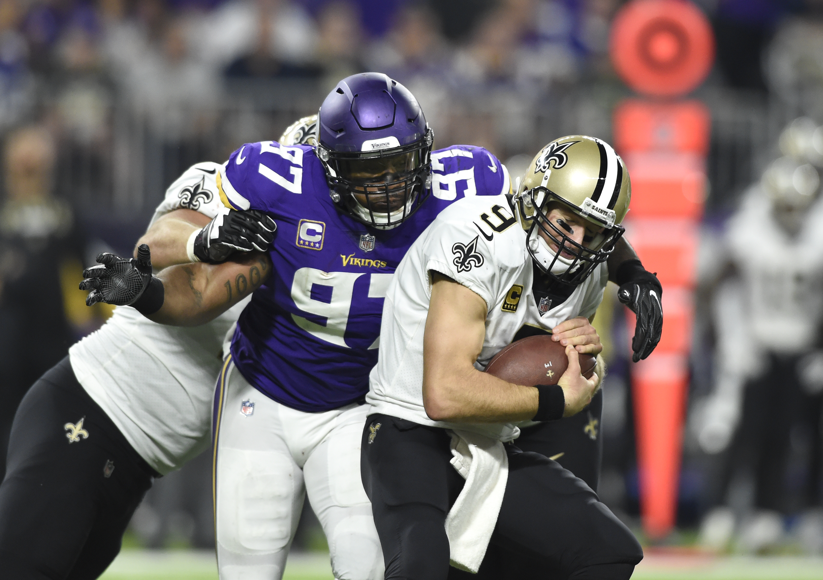Everson Griffen is playing out of his mind for the Minnesota