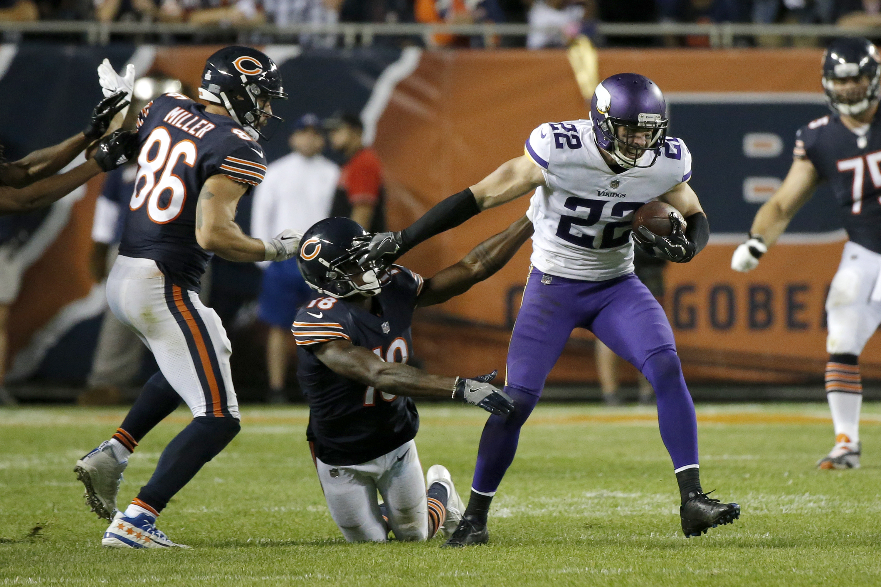 Harrison Smith is the NFL s top graded safety halfway through the