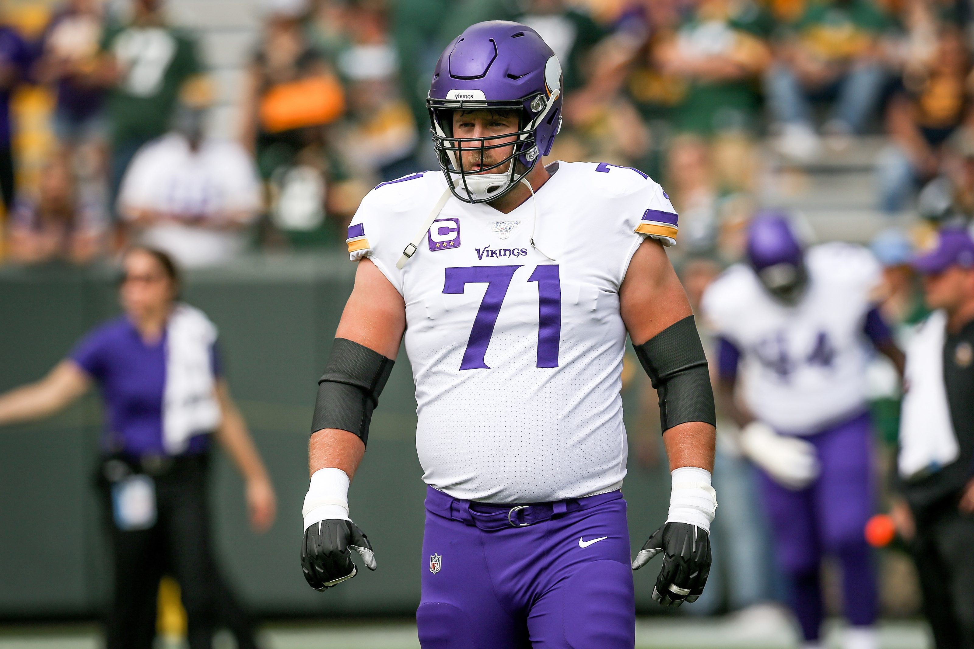 Riley Reiff and the Vikings